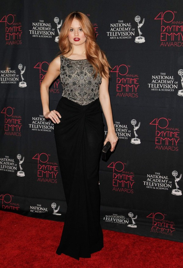 Debby Ryan at 40th Annual Daytime Entertainment Creative Arts Emmy Awards on June 14, 2013