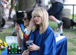 Emma Stone On the Sets of 'The Amazing Spiderman 2' in New York on June 2, 2013