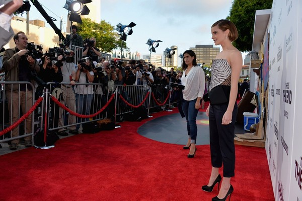 Emma Watson at 'This is the End' Premiere in Los Angeles on June 3, 2013