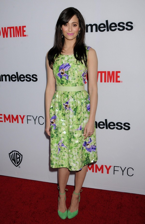 Emmy Rossum at the Screening & Panel Discussion of 'Shameless' in North Hollywood on June 4, 2013