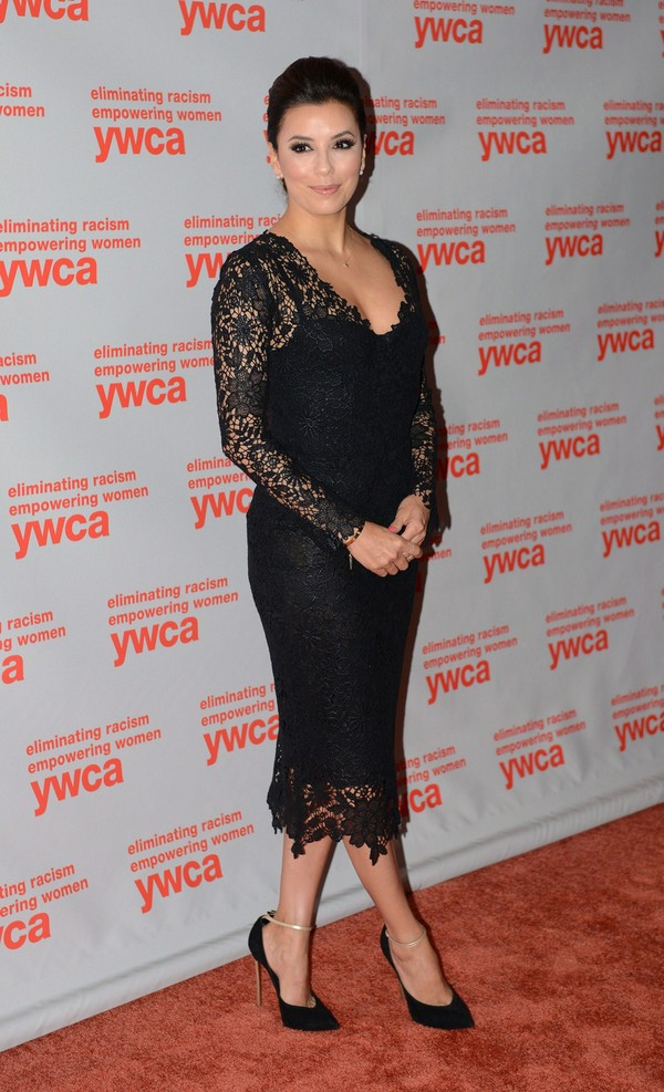 Eva Longoria at 2013 YWCA USA Women of Distinction Awards Gala in Washington on June 7, 2013