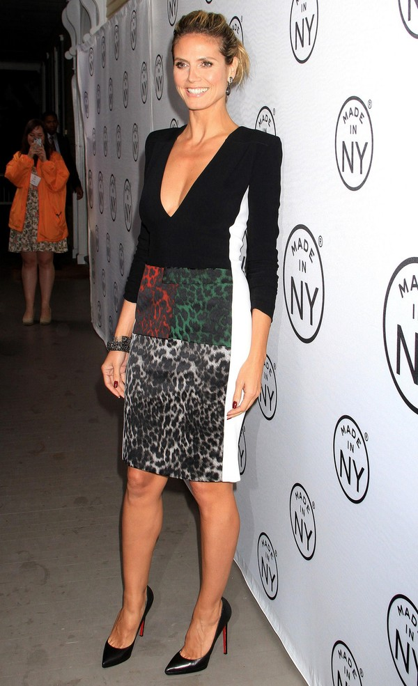 Heidi Klum at 8th Annual 'Made In NY' Awards on June 10, 2013