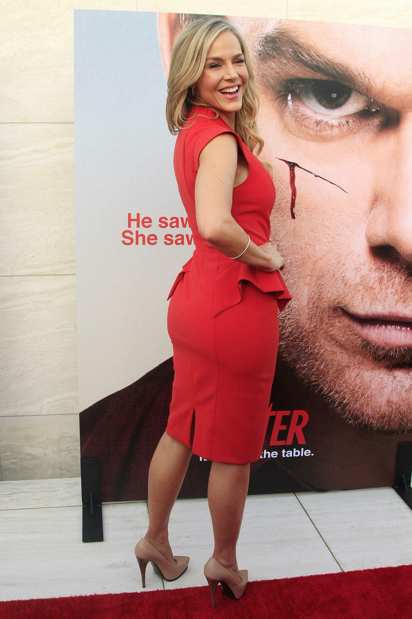 Julie Benz at Dexter Season 8 Premiere in Hollywood on ...