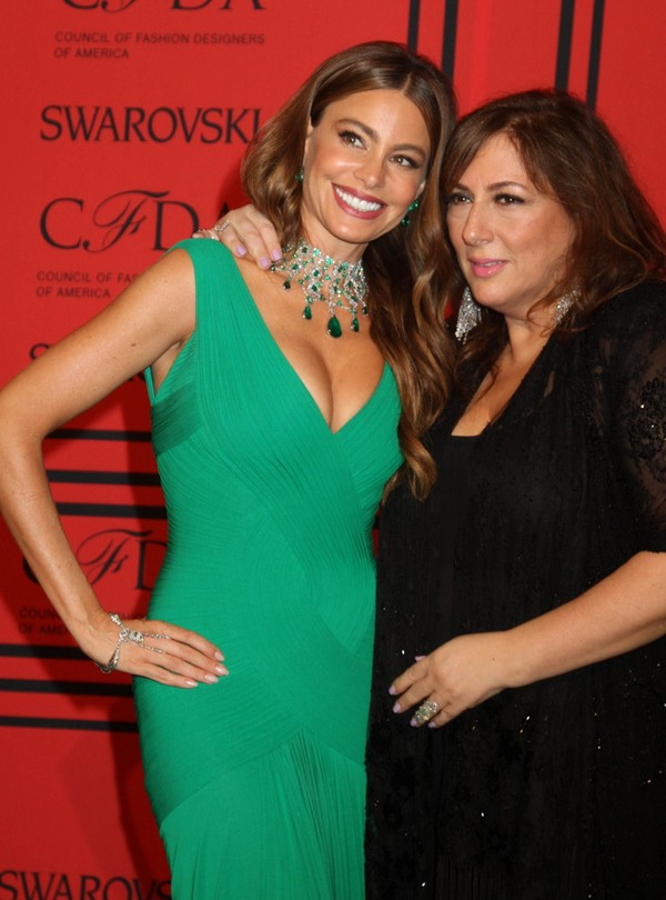 Sofia Vergara at 2013 CFDA Fashion Awards in New York on June 3, 2013