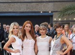 The Saturdays Looking Gorgeous, at 'The Hangover Part III' Premiere in London on May 22, 2013